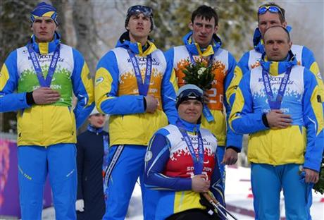 ukraine cross country ski team