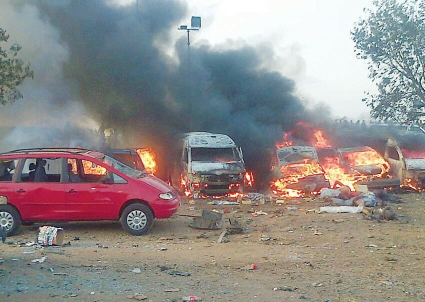 boko haram bus station