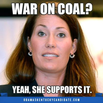 TYPICAL LIB… Alison Grimes Meets With Green Lobby Leaders & Far Left Radicals (Video)
