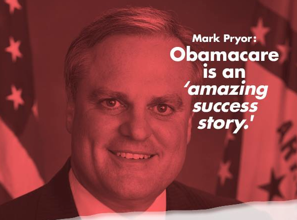 mark pryor obamacare