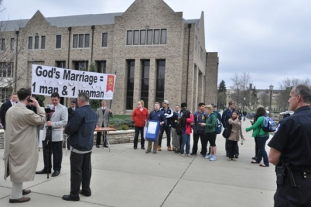 notre dame marriage