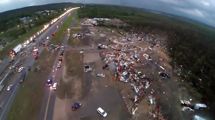 FAA Looking to Fine Storm Chaser $10K For Drone Recording of Tornado Disaster Area