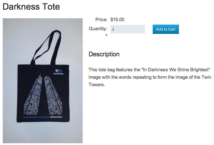 Darkness Tote