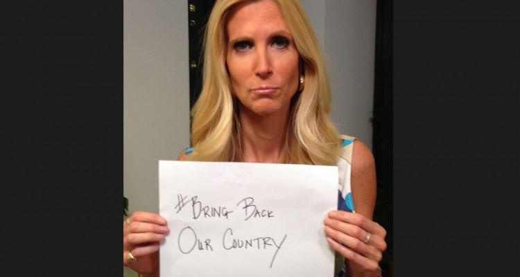 coulter hashtag country
