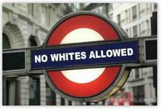 no whites allowed