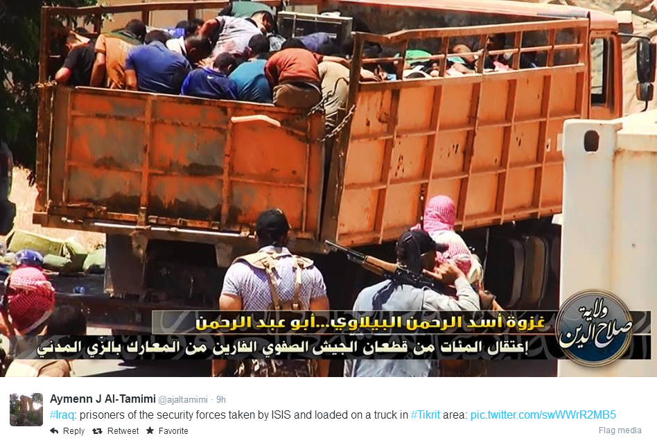 ISIS truck