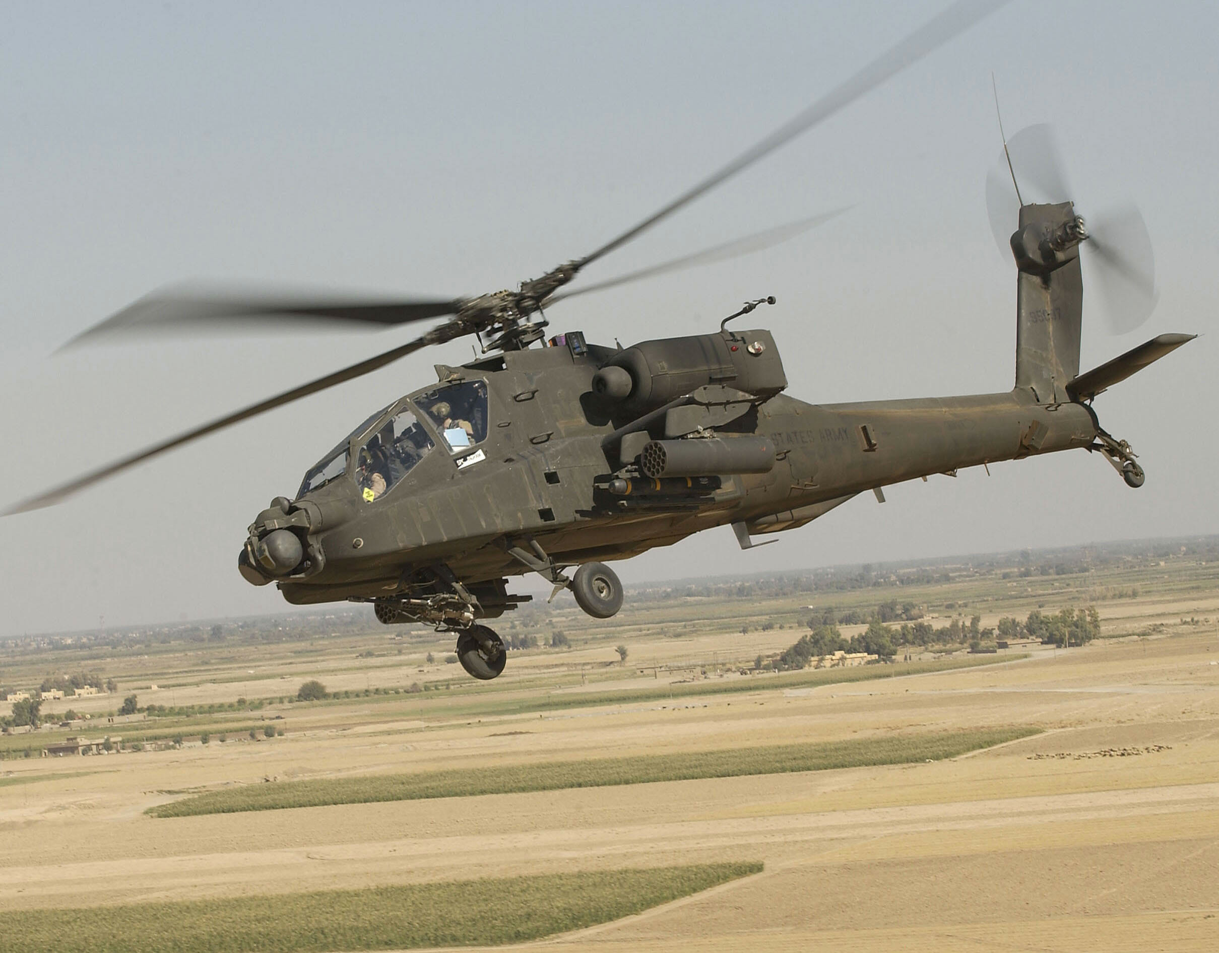 "PC Police Want Military to End Racist ""Apache"" Name for Helicopters"