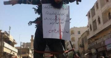 "Report: ISIS Crucifies Eight Rebel Fighters – ""Bodies Still on Display"""