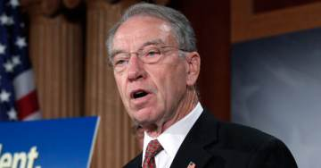 BREAKING: Judiciary Chair Chuck Grassley Now Using a Police Escort