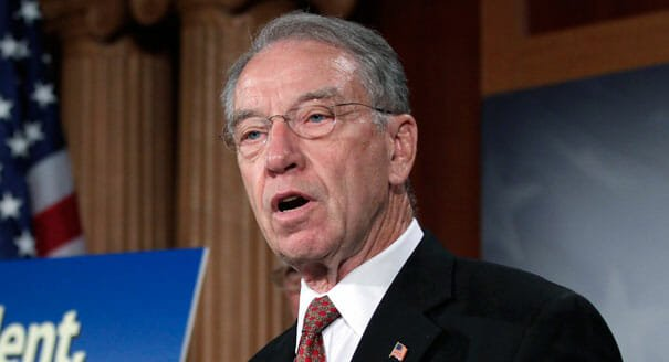 Senate Judiciary Chair Grassley Demands FBI Hand Over All Strzok Text Messages Along with Dossier and FISA Communications