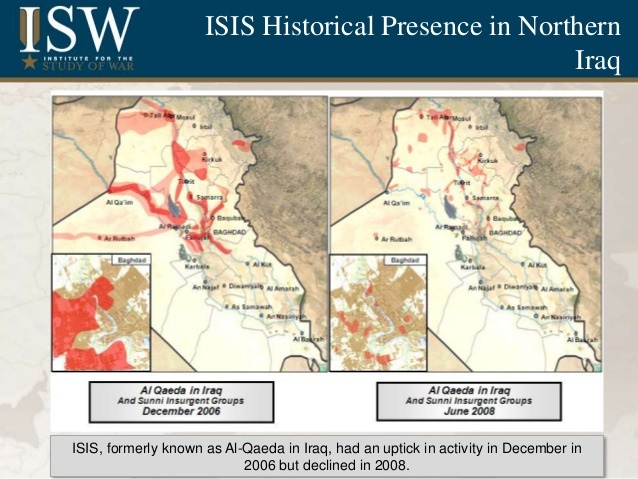 iraq isis 2006 and 2008