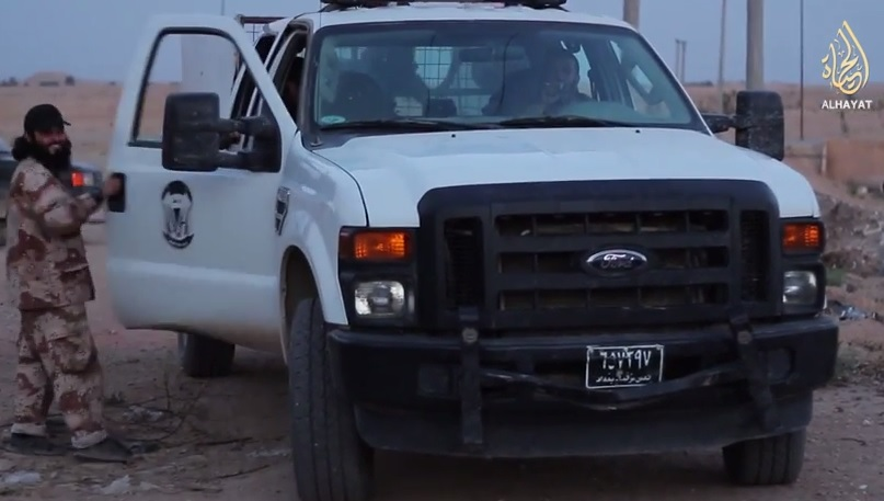 isis truck obama