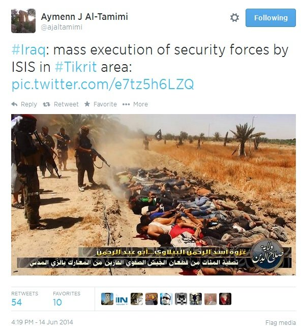 mass grave ISIS