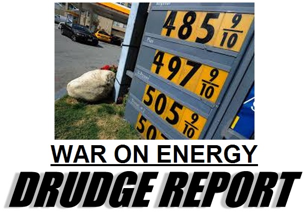 obama war on energy drudge