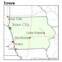 sioux city map