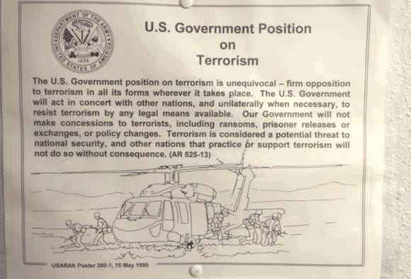 us government position on terrorism