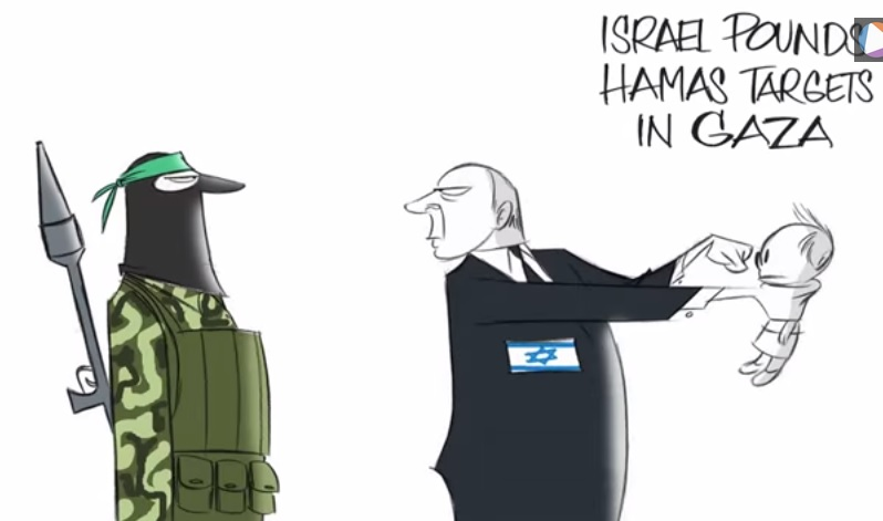 hamas wapo cartoon