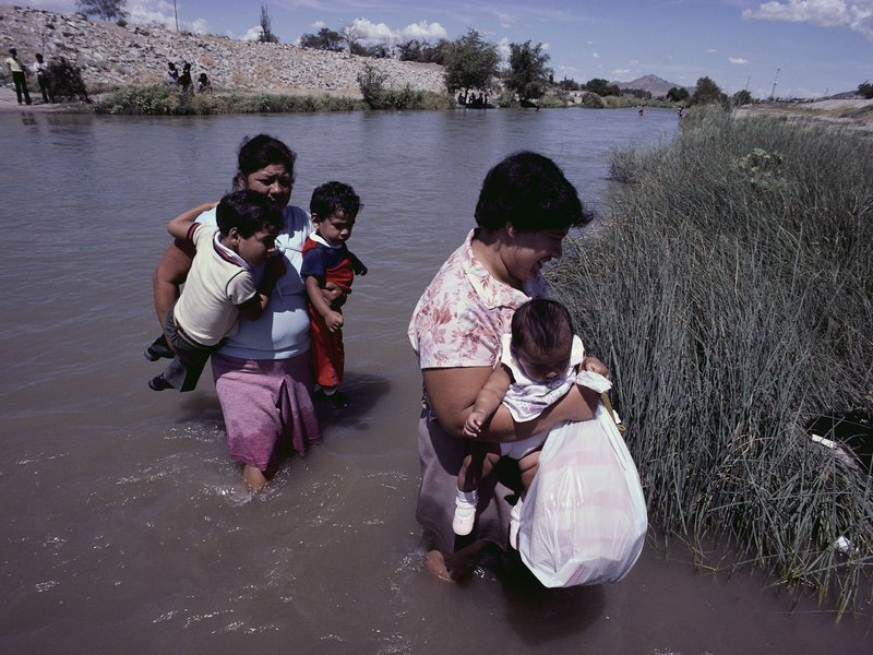 immigrants rio grande