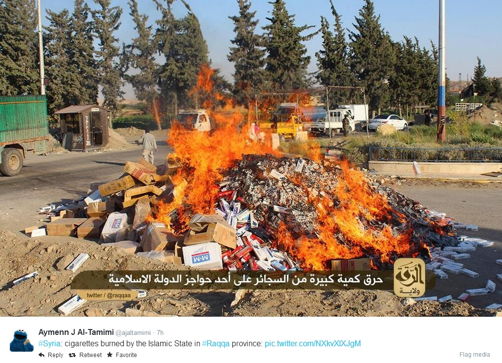 isis cigarettes