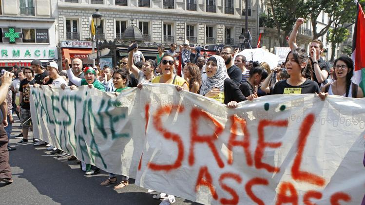 palestinian protest paris