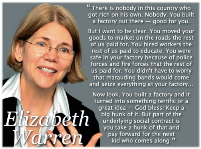 you didn't build that warren