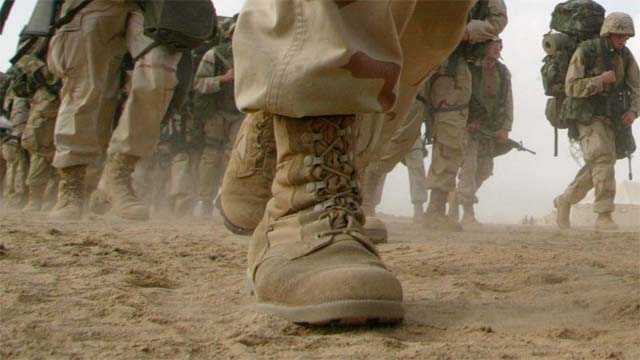 boots on ground