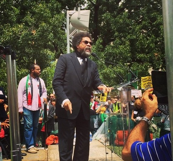 cornel west white house hamas