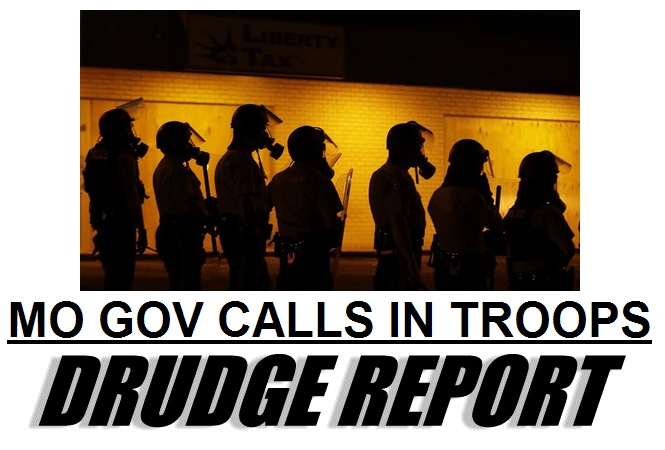 drudge governor troops