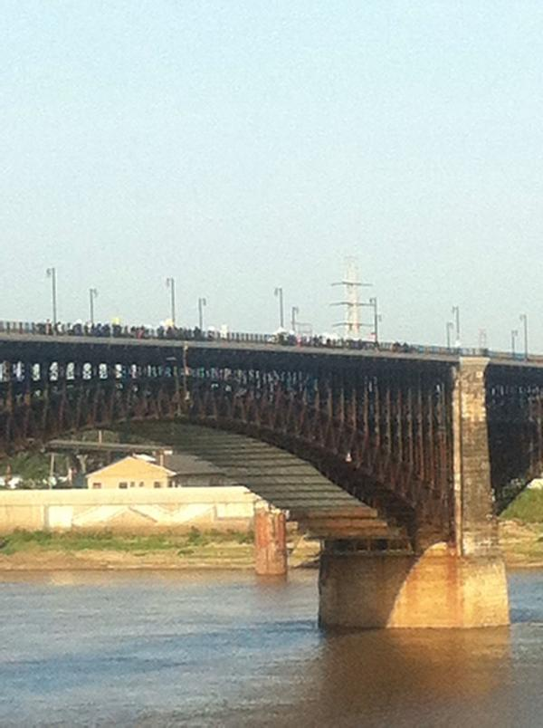 eads bridge protest