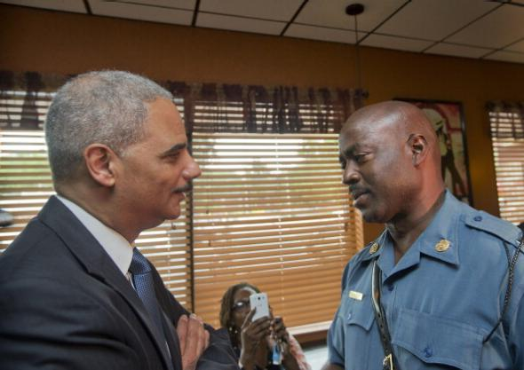 eric holder ron johnson