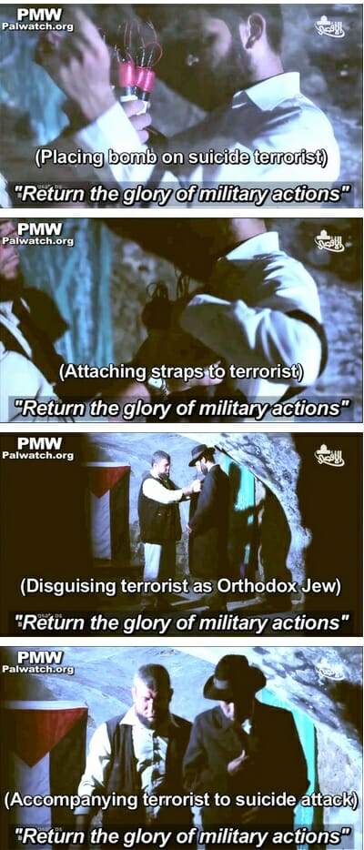hamas dress as jews