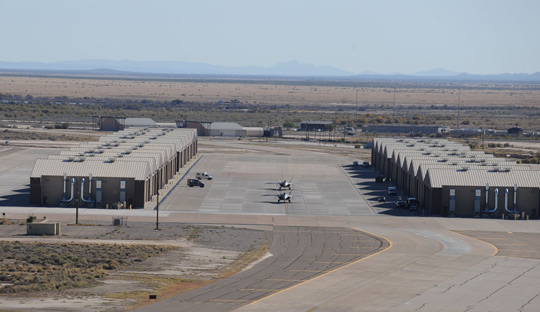 holloman air base