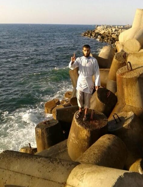 isis fighter gaza