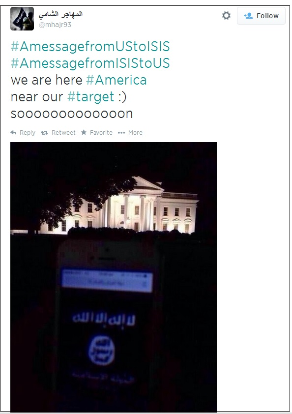 isis phone white house