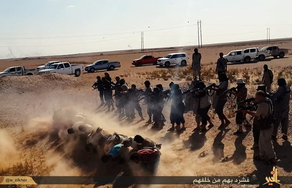 isis slaughter syria