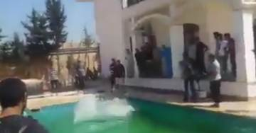 """ISLAMISTS """"Secure"""" US Embassy Compound in Tripoli – RELEASE VIDEO FROM THE POOL"""
