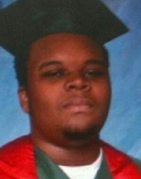michael brown graduation