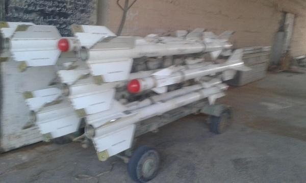 missiles isis