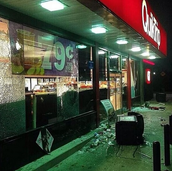 quicktrip looting