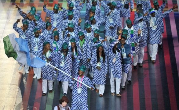 sierra leone athletes