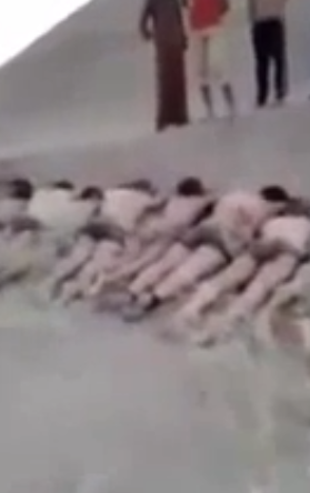 slaughter isis soldiers
