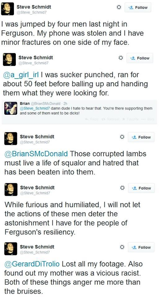 steve schmidt beating