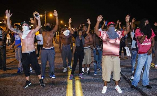 hands up don't shoot ferguson