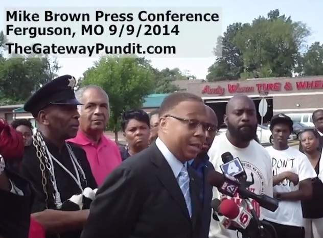mike brown presser