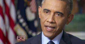 Media Ignores Obama's 60 Minutes Ratings Collapse – Down 69% in a Week