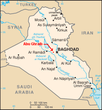 abu ghraib map