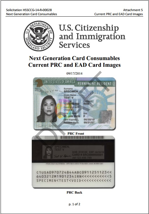 cards immigration