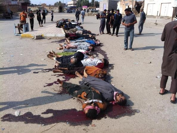 #ISIS Commits Mass Slaughter of Sunnis in Hit, Iraq – POSTS  PHOTOS & VIDEO