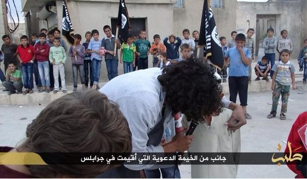 isis rally kids 2
