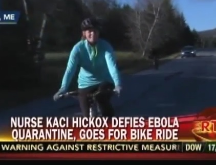 kaci hickox bike